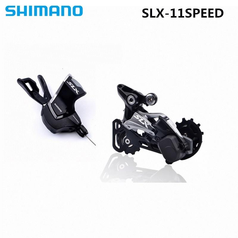 цена на SHIMANO DEORE SLX M7000 Groupset SL M7000 SHIFT LEVER + RD M7000 REAR DERAILLEUR MTB 11-SPEED M7000 SL+RD GS