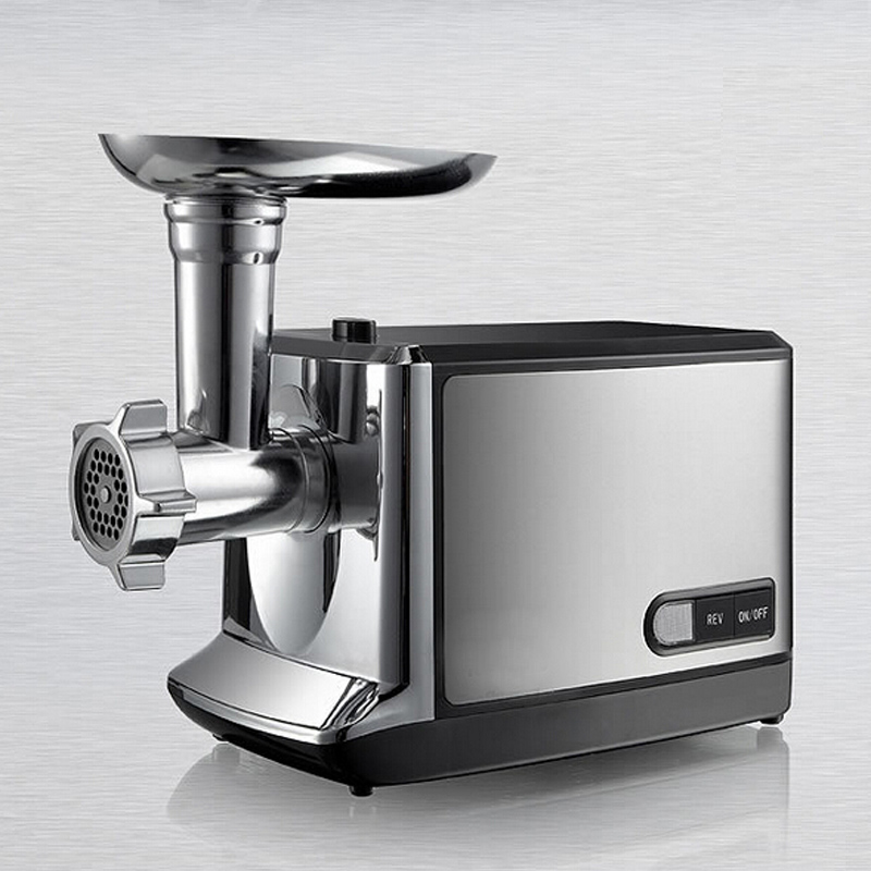 VOSOCO meat grinder Multifunctional electric automatic Stainless steel meat grinder vegetable sausage commercial and household