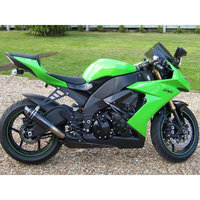 High quality Motorcycle factory fairing bodywork for 2008 2009 2010 Kawasaki ZX10R green black Fairings Ninja ZX 10R 08 09 10