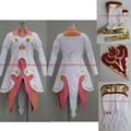 Anime Estelle Tales of Vesperia TOV Cosplay Costume Custom +gloves+shoes+shield set