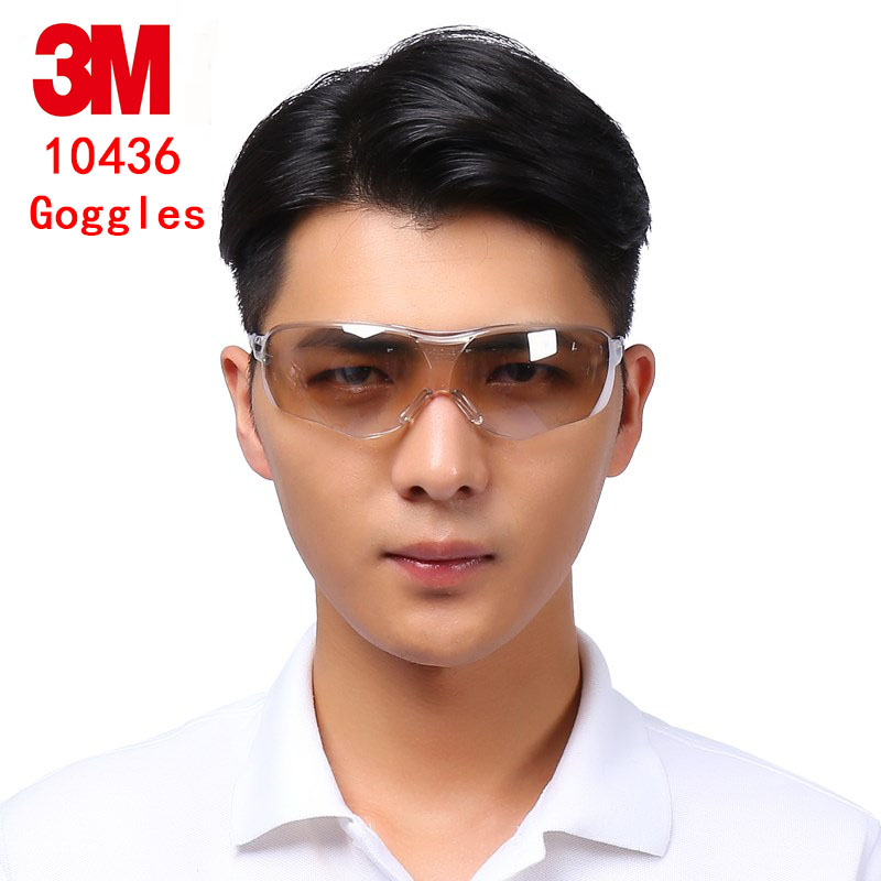 цена на 3M 10436 outdoor movement goggles Genuine security 3M protective glasses Reflective lens Riding a sport safety glasses