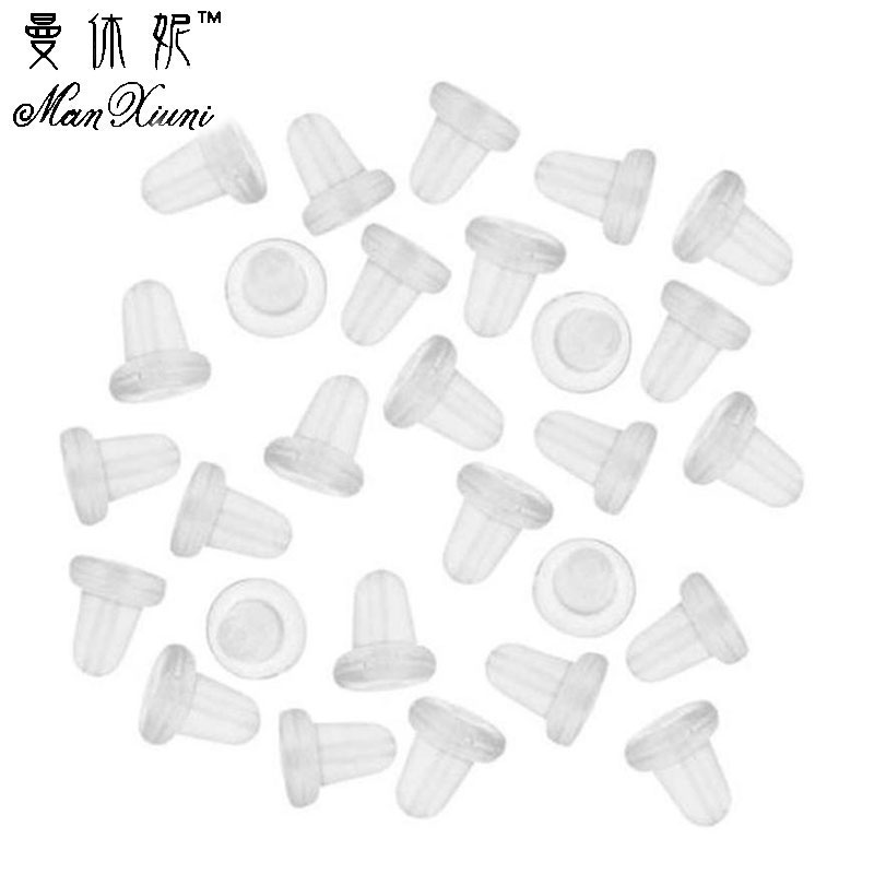 150 Piece Clear Clutch Earring Safety Backs For Fish Hook Earrings Bohemian Earrings Bijuteria Feminina Fashion Women Girl