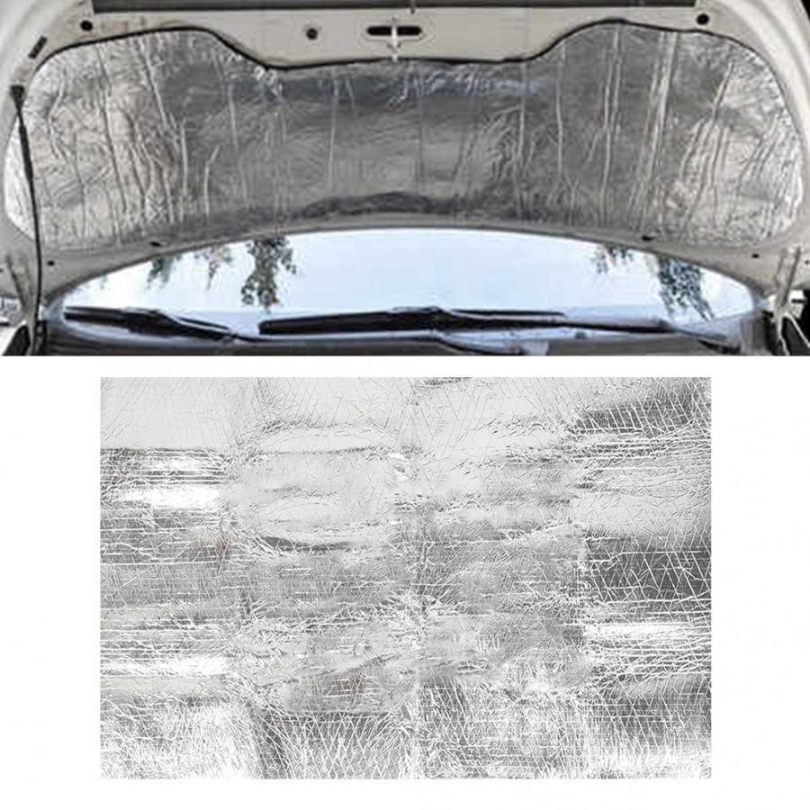 3K5W5 voiture insonorisation mousse amortissement véhicule bouclier thermique tapis d'isolation acoustique mousse d'isolation
