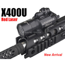 Ультра светодиодный светильник для оружия Element X400 с красным лазерным прицелом для пистолета или охоты (EX 367)weapon lightled weapon lightx400 ultra  АлиЭкспресс