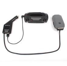 2en1 Cargador de Coche Cargador De Batería Controlador Rápida Segura con Puerto USB para DJI MAVIC PRO Platinum