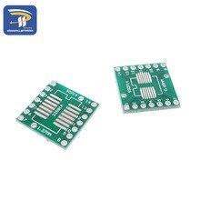 10 шт. SOP14 SSOP14 TSSOP14 к DIP14 Pinboard SMD для DIP адаптер 0,65 мм/1,27 мм до 2,54 мм DIP Pin Шаг печатной платы Конвертер Разъем