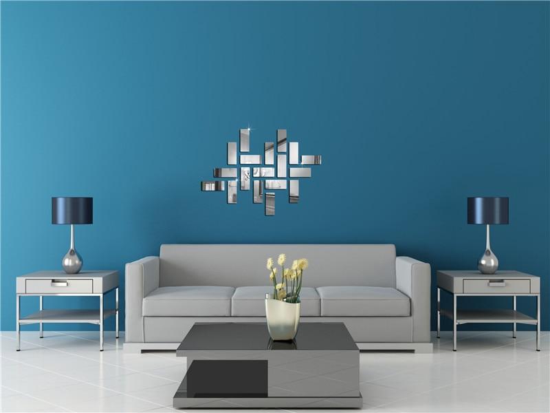 online-shop sonderangebot moderne acryl 3d aufkleber quadrat neues, Hause deko