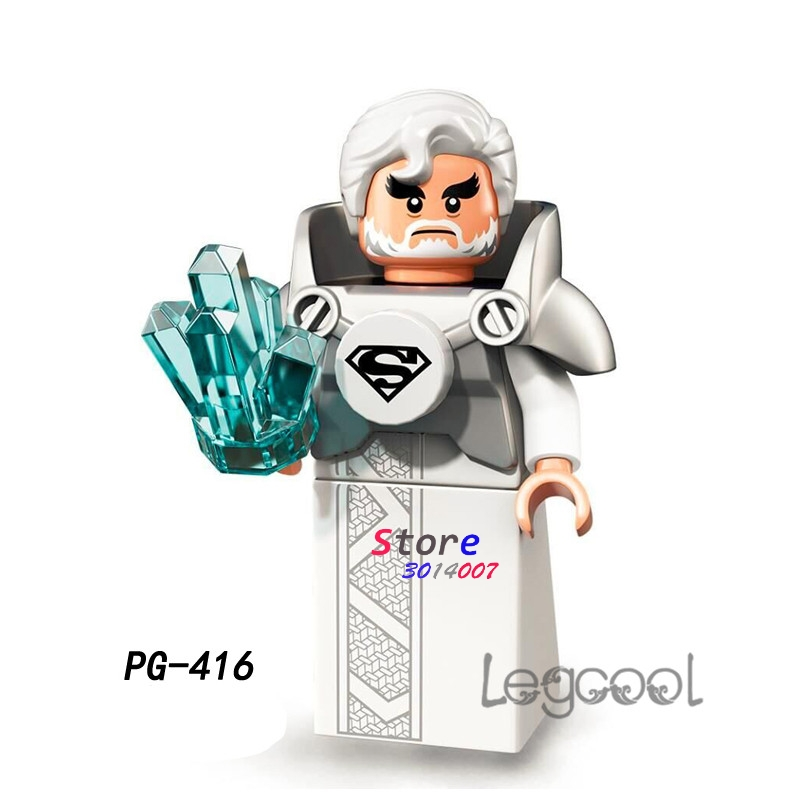 Blocks Brilliant 1pcs Model Building Blocks Action Figure Starwars Superheroes Jor-el Baby Friends Hobby Toys For Boys Diy Toys For Children Gift Back To Search Resultstoys & Hobbies