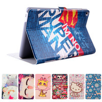 Fashion Painted Flip PU Leather For HuaWei MediaPad T1 8 0 S8 701U S8 701W T1