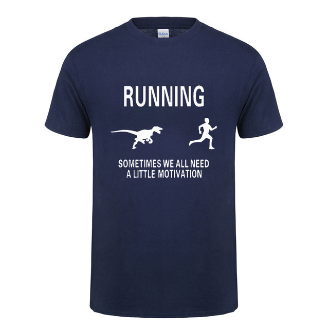 Dragon Running Sometimes We All Need A Little Motivation T Shirt Funny Birthday Gifts For Men Boyfriend Husband Brother