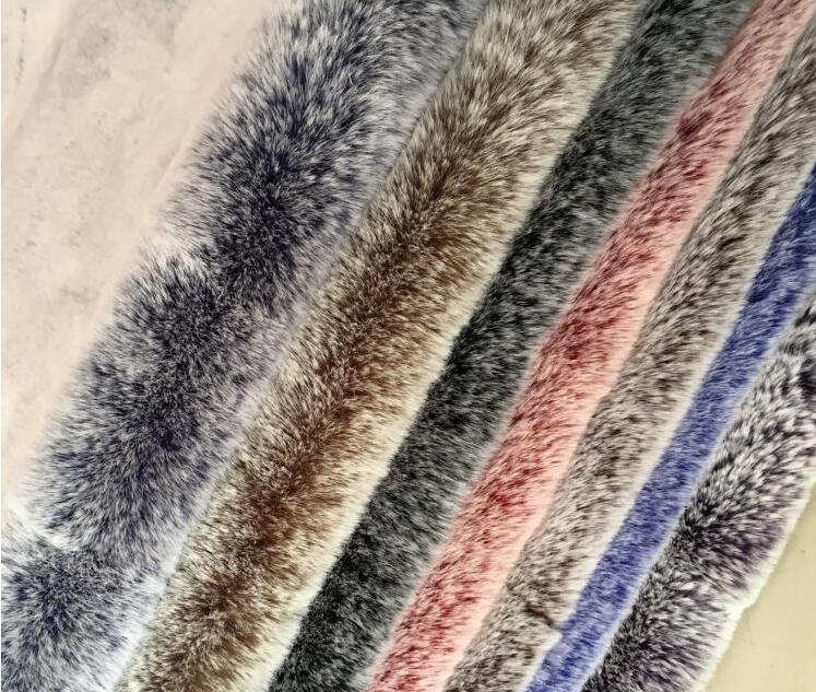 9 estilo Rex conejo largo pelo animal algodón felpa lana tela para abrigo textiles hecho a mano parche Jacquard grueso lentejuelas tela a345