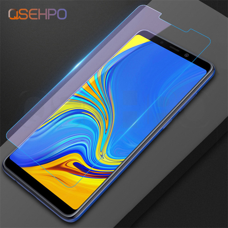 Screen Protector Glass for Samsung Galaxy A9 2018 half cover on A9200 Phone Protective Glass for Samsung A9 2018 Tempered Glass