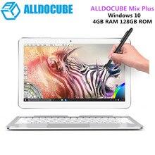 "ALLDOCUBE Mix Plus 2 in 1 Tablet PC Windows 10 OS 10.6"" IPS intel Kabylake 7Y30 Dual Core 4GB 128GB Dual Camera"
