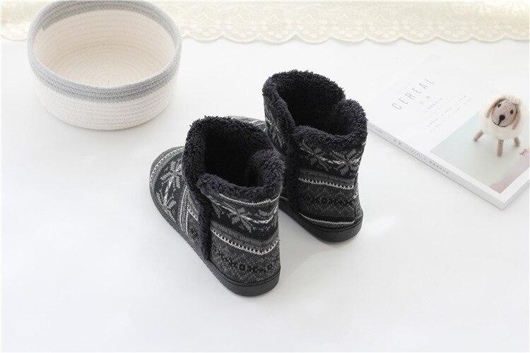 macio de pelúcia em casa tornozelo botas