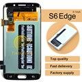 5 pcs o envio gratuito de peças de telefone celular originais para samsung s6 edge assembléia display lcd g925i g925v g9250 top fashion