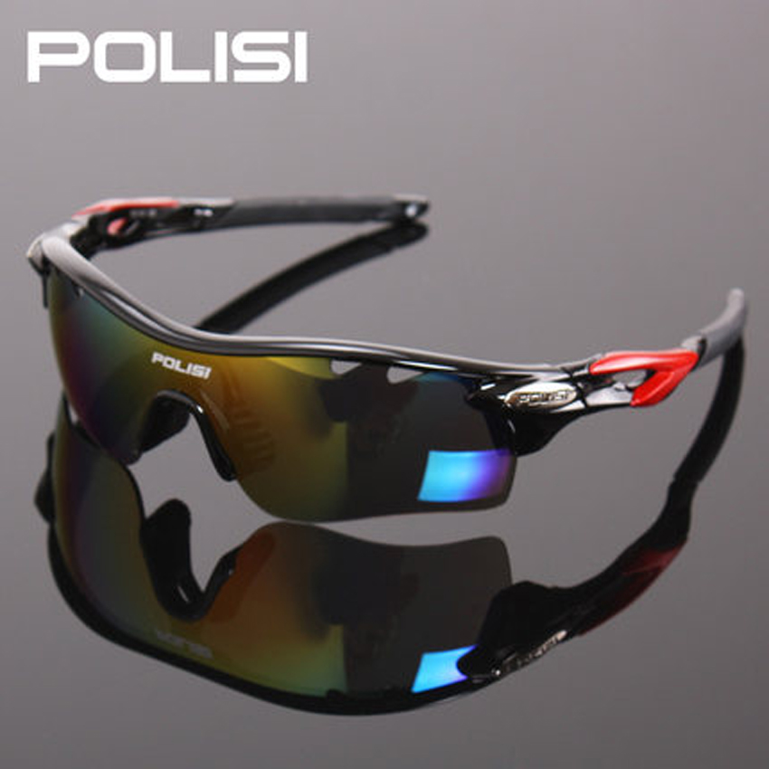 New Brand Top Grade Polarized Cycling Glasses Outdoor Sports Bicycle Sunglasses Goggles UV400 Cycling Eyewear 5Lens hdcrafter brand new men s polarized mirror sun glasses comfortable male driving eyewear accessories sunglasses for men