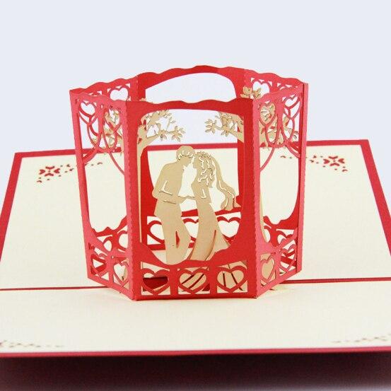 Carte de mariage arbre de jardin/carte 3D pop up carte/invitation de ...