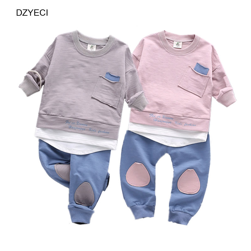 Dzyeci Fall Winter Sport Set For Baby Boy Girl Boutique