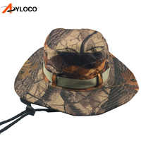 Tactical Caps Camouflage Boonie Sunhat Nepalese Cap Militares Army Mens Military Hiking Hats Summer Bucket Hat Fishing