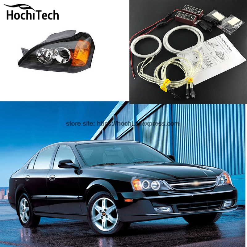 HochiTech Excellent CCFL Angel Eyes Kit Ultra bright headlight illumination for Chevrolet Epica Magnus 2000 to 2005