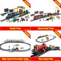 Lepin 02008 02009 02039 The Cargo Train Set Genuine 959Pcs City Series 60052 Building Blocks Bricks