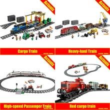 Lepin 02008 02009 02039 The Cargo Train Set Genuine 959Pcs City Series 60052 Building Blocks Bricks Educational Toys for boys