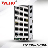 (SP 150 5) CE Rohs approved 150w 5v dc power supply with PFC function Switching mode power supply 150w 5v