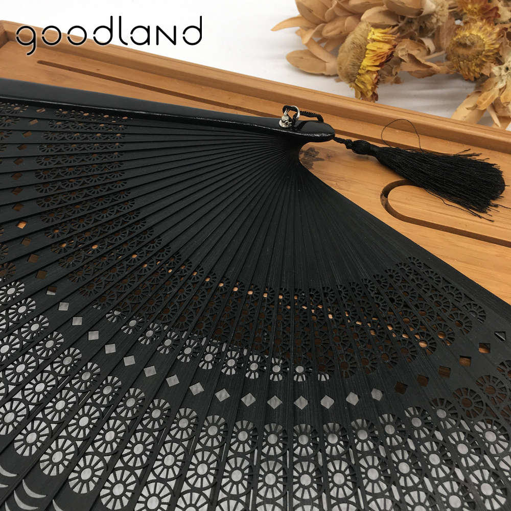 Wholesale Free Shipping 100pcs Black Full Bamboo Round Geomitric