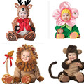 Bebé Polar Conjunto Recién Nacido Kids Boy Girls Monos Monos Mamelucos Trajes Invierno Cosplay Animal Shapes de Halloween Traje de la Navidad