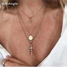 11266988b064 Online Get Cheap Small Gold Cross Pendant -Aliexpress.com