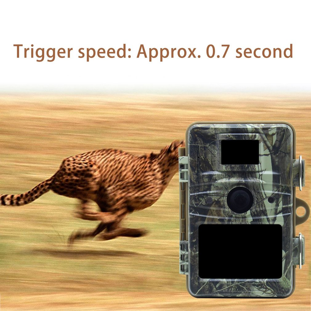 LESHP Infrared Outdoor Hunting Camera Trap 12MP Wildlife Game Cameras HD Night Vision Waterproof IP66 Hunter Trail Camera hunting camera 940nm 12mp photo traps infrared night vision motion detection outdoor wildlife trail cameras trap no lcd screen