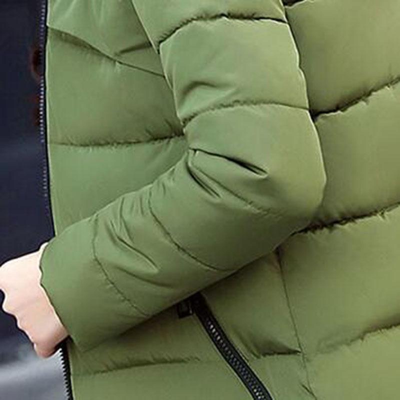 Hiver À Ouatée Femelle Neige army Coton gris Manteau De D'hiver Femmes Long Casual wine Rembourré Capuche Noir Green 2017 Ac226 Red Nouveau Porter Survêtement Veste dOw7Rqv