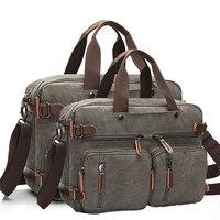 Men Handbags Laptop Shoulder Bags Crossbody Men Messenger Bag Canvas Large Capacity Bolsa Masculina Vintage Travel