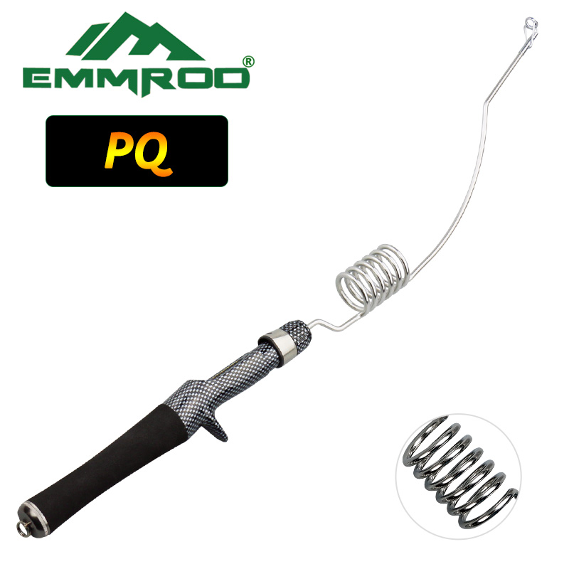 Emmrod Stainless Portable Casting Fishing Pole Rod Fishing Tackle Sea Rod Lure Rod Ice Fishing rod Boat/Raft Rod Rock Rod PQCoil fulang emmrod elasticity fishing rod boat raft rod lure cork wood stock patented product with fishing bag 53 5cm mq 6c