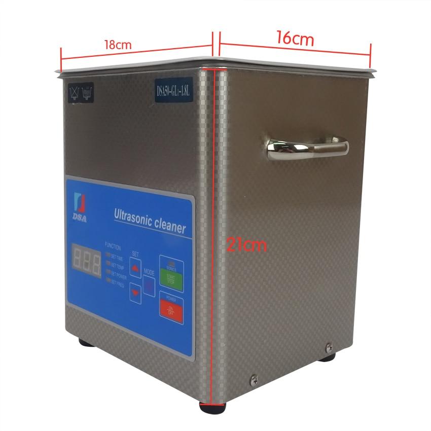 1PC digitaalne DSA50-GL1 110 / 220V ultrahelipuhastaja roostevabast - Kodumasinad - Foto 2