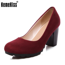 Kemekiss Размеры 34–43 женские туфли на высоком каблуке женские сандалии-гладиаторы на платформе модная обувь на квадратном каблуке обувь ботинки на каблуках Обувь P10959