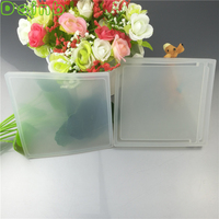 Sealable Square Base Plate Silicone Mold For Epoxy Resin Jewelry Crafts Making Dynamic Liquid Quicksand Creative