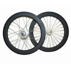 16 inch for stumery 5speed carbon wheelset brompton clincher bicycle carbon rims cycling wheels bicycle parts