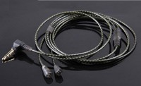 IE8 IE80 atualizar cabo de fio do fone de ouvido DIY