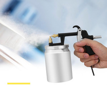 цена на Portable Spray Paint Gun 500ML Pneumatic Spray Gun Professional Airbrush Sprayer Painting Tools For Car Painting Atomizer Tool