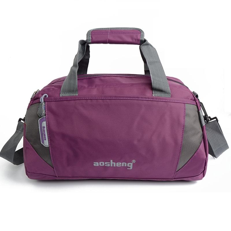 Waterproof Women Men Gym Bag Fitness Handbags Shoulder Bags For Travelling Outdoor Sports Yoga Mat Sack De Sort Duffel XA339WA