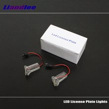 цена на Liandlee For Lexus Toyota Corolla Atis 2001~2007  / LED Car License Plate Light / Number Frame Lamp / High Quality LED Lights