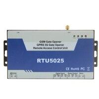 New Upgrade RTU5025 GSM Gate Opener Wireless GSM Relay Access Controller Door Opener Garage Rolling Gate
