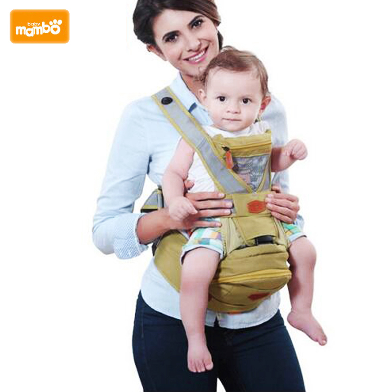 Mambobaby Multifunction Outdoor Kangaroo Baby Carrier Sling Backpack New Born Baby Carriage Hipseat Sling Wrap Summer and Winter mambobaby лесные эльфы