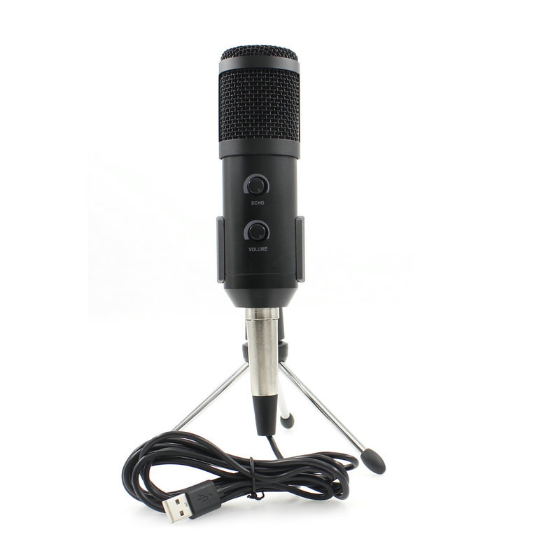 BM 900 Condenser USB Microphone Studio With Stand Tripod Adjustable Mic For Computer Recording Karaoke PC Upgraded From BM 800