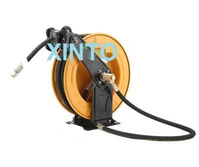 10-15M автомобильной высокое давление воды катушка для шланга, автоматическая выдвижная катушка - Цвет: X07A0028  15M