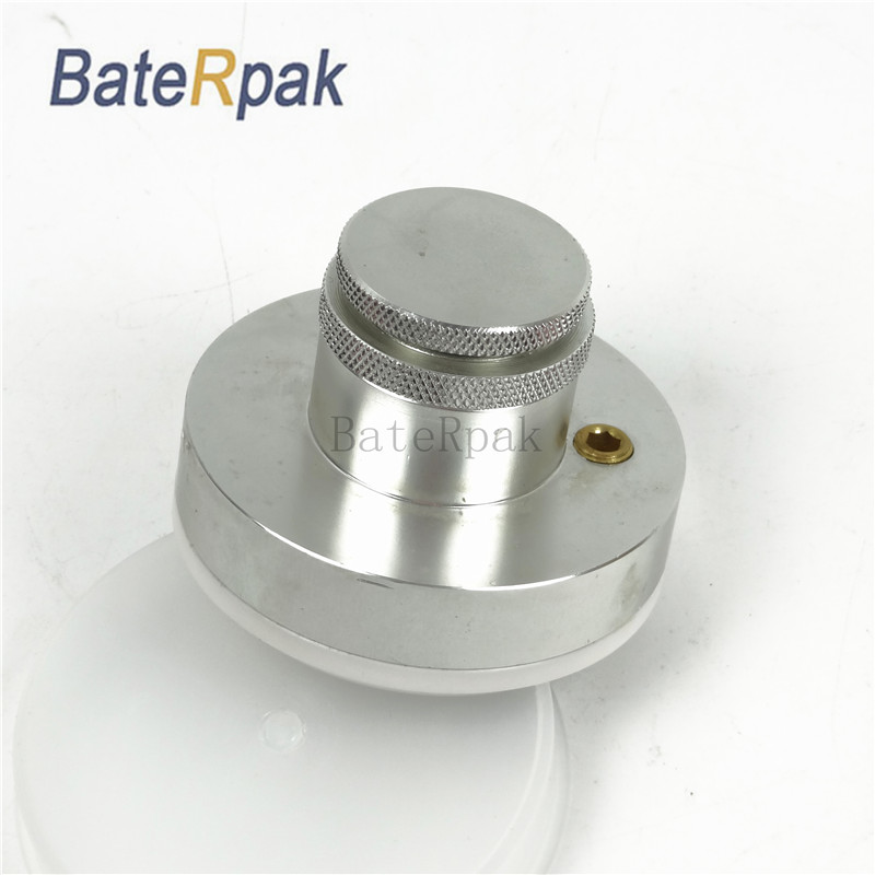 BateRpak Pneumatic/electric Pad printing machine spare part ink cup with ceramic ring and diameter 70mm 1 piece baterady pneumatic electric pad printing machine spare part ink cup tungsten steel ring odxidxh mm