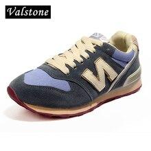 Valstone Autumn Winter Women Casual suede flock Shoes Walk Jogging fashion Flats Feme breathable loafers velvet inside optional