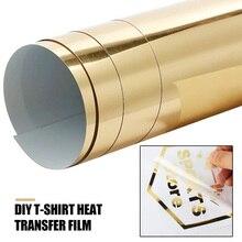 Термопереводная бумага золото Diy светильник ткани струйные принтеры A4 текстиль прочный рисунок креативная футболка
