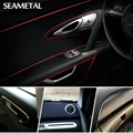 5M Car Styling Interior Decorative Thread Sticker Insert Type Decoration Strip Four Color Car-Styling Stickers Accessories